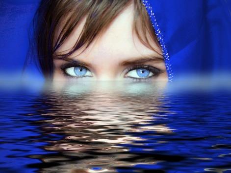 Soul Psychology Feelings Water Eyes Woman